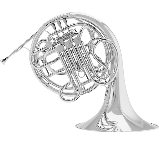 Conn 8D CONNstellation Series Double Horn Nickel Silver Fixed Bell
