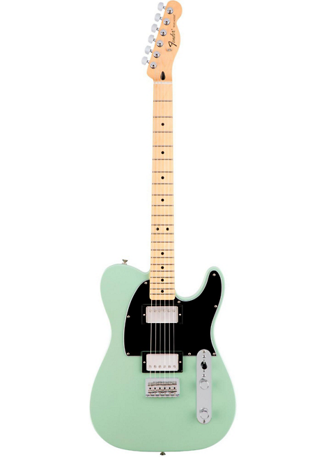 Fender Telecaster Hh >> Fender Special Edition Hh Maple Fingerboard Standard Telecaster Sea